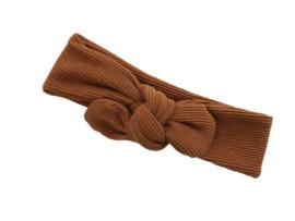 Haarband Rib Cognac
