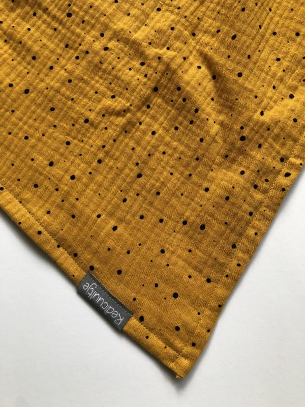 Hydrofiele doek geel stip