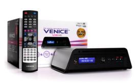Venice V38HD Mediaspeler met ingebouwde DVD