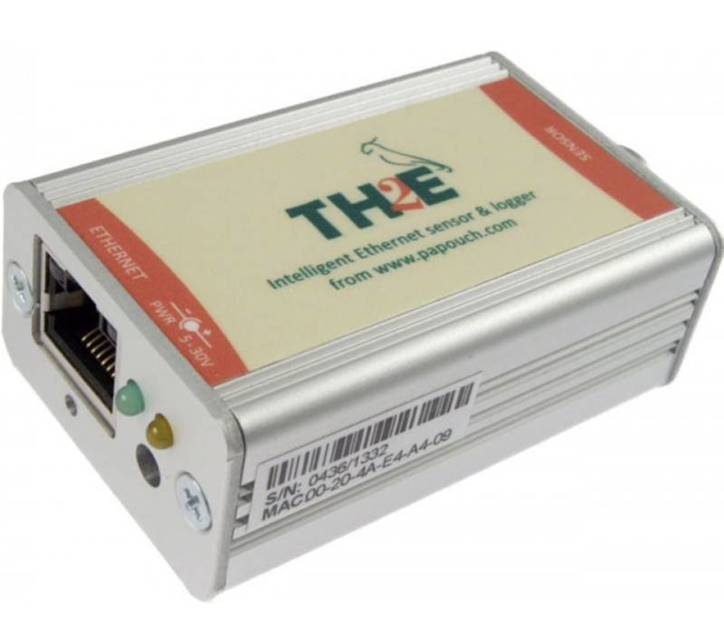 TH2E Ethernet sensor temperatuur