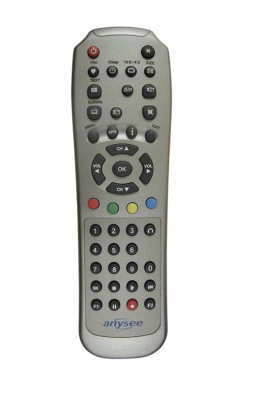 Anysee Remote ( Voor alle E Series )