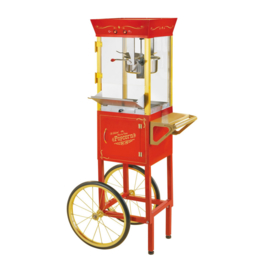 Popcornmachine incl. kar