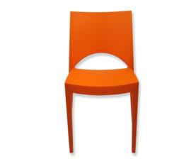 Stoel trendy oranje