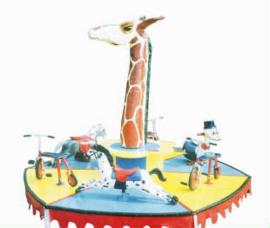 Draaimolen giraffe (tot 8 jaar)