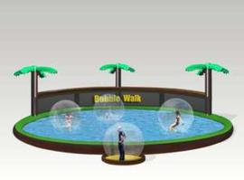 Bubble walk