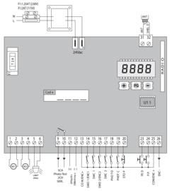Beninca. HEADY24 eenvoudige motorsturing 24V