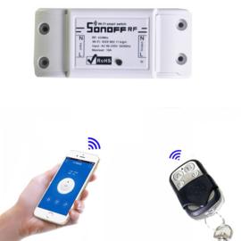 2 stuks Wifi Module. uw poorten openen met uw gsm zonder sim kaart of abonnement.WIFI DRAADLOZE SWITCH en relais