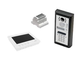 Videofoonset Videx 4000/6K7 , inbouw met codepaneel, handsfree