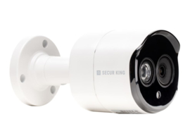 5 MP HD 4in1 bulletcamera Varifocaal objectief, IR 20m