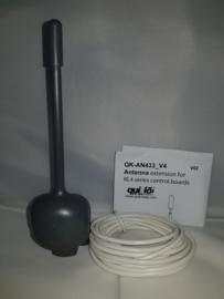 ANT433 versterkings-antenne, met aansluit kabel.