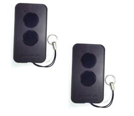 2 stuks DoorHan transmitter 2 PRO,  zender 2 knops. (14,95 p/st)