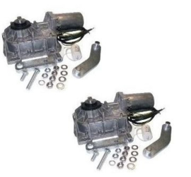 2x Ditec Cubic 6. 230v motoren.