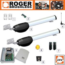 Roger Technology - RAM BE20/210 BRUSHLESS Twin Kit tot 2,2 meter vleugellengte.