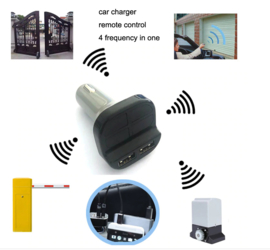Z05 4 kanaals zender. Auto Charger Afstandsbediening Vaste Code En Rolling Code 433 Mhz 433,92 868 Mhz Afstandsbediening Multi-frequentie Afstandsbediening.