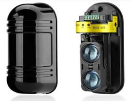 K Y-LPS 100 meter ir sensoren.  180 graden draaibaar, met NO en NC contact  dus ook voor alle alarminstallaties te gebruiken.