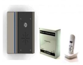 AES 603 ED DRAADLOZE INTERCOM (VLAK MODEL)