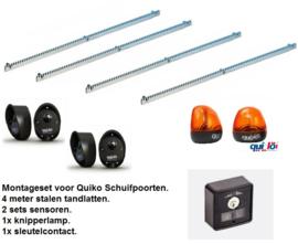 Montageset Quiko schuifpoort openers.
