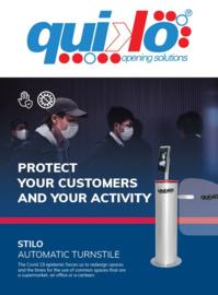 Quiko Stilo Automatische draaideur. (zonder de BOS BS-DET2000BT scanner)