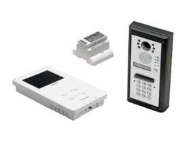 Videofoonset Videx 4000/6K3 , inbouw met codepaneel, handsfree