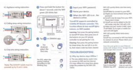 Wifi Module.  uw poort openen met uw gsm zonder sim kaart of abonnement.WIFI DRAADLOZE SWITCH  en relais
