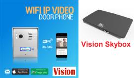 Vision 124 videofoon met skybox.