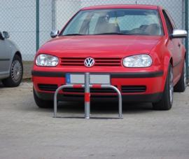 Parkeerbeugel Ø 60 mm, verzinkt, met europrofielcilinder.