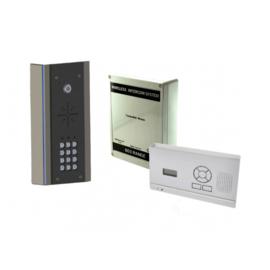 AES 603 HF EDK DRAADLOZE INTERCOM (VLAK MODEL)  met codeclavier.