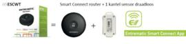 HSESCWT   Smart Connect router + 1 kantel sensor draadloos