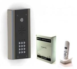 AES 603 EDFK DRAADLOZE INTERCOM (VLAK MODEL). met codeclavier.