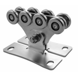 CA SPEED SE Achtvoudig wielenblok voor vrijdragende/zelfdragende schuifpoort.  small
