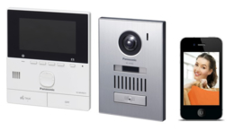 Panasonic VL-SVN511EX  WIFI  videofoon.  2-draads video intercom kit. OPbouw.