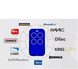 Kijzer-K-2130, kan ELK merk kopieren. U weet niet op welke frequentie uw poort werkt?  dan  is onze  Multi-frequency duplicate rolling code en fixed code zender de oplossing. Alles van afstand bedienen met dezelfde zender !bereik tot 100meter. Waterproof.