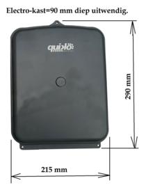 Quiko QK-CE220BATRL4 print, sturing met kast en ontvanger,  compleet.voor Quiko Neo, Eon, Rotello, scarabeo, SUB, En Proteco Aster, Leader, Shark, en bijna alle andere 230v motoren.