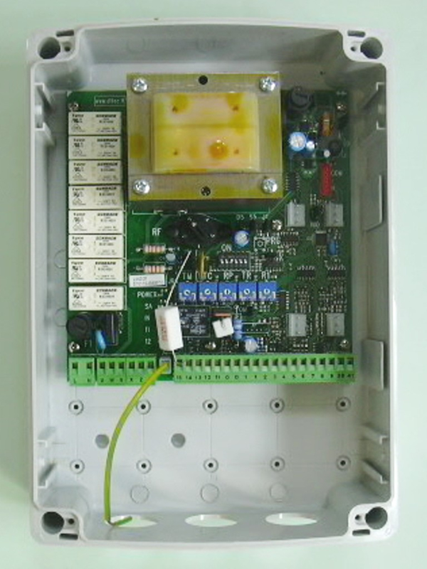 Ditec Entrematic  LOGICM besturing 2 motoren 230V