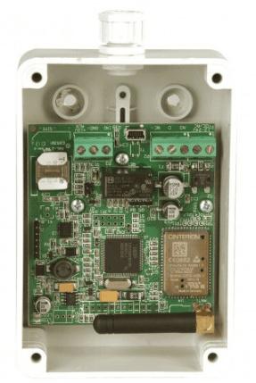 videx GSM Ontvanger module met behuizing.