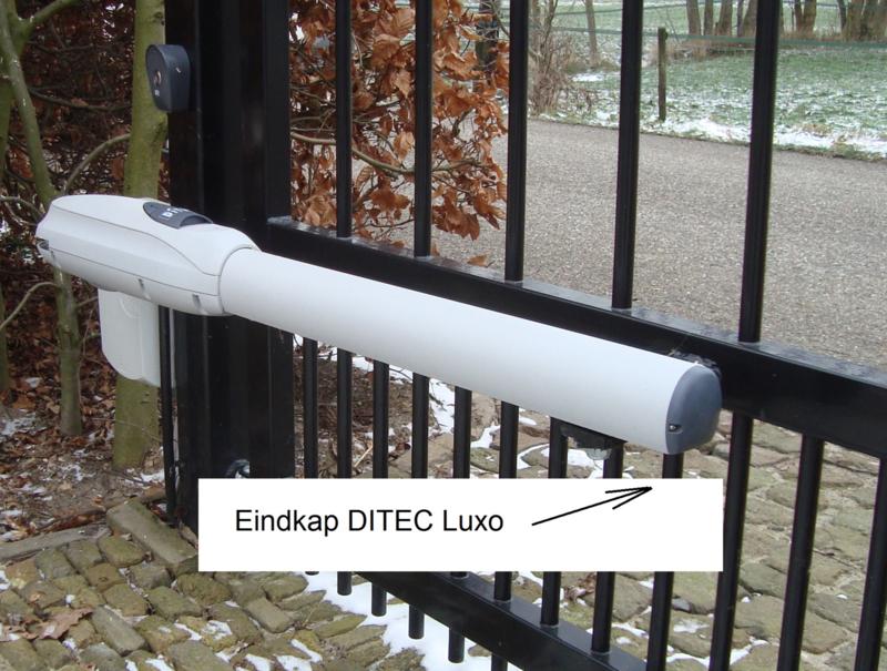 2 stuks eindkap voor ditec  Luxo 3,4,5   6LUXC  (pos 10 op tekening)