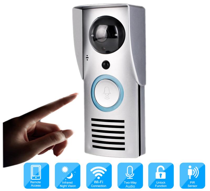 WIFI IP videofoon.  Nieuw. K 1601