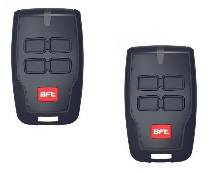 2 stuks BFT Mitto Rcb 04 handzender. (14,95 p/st)