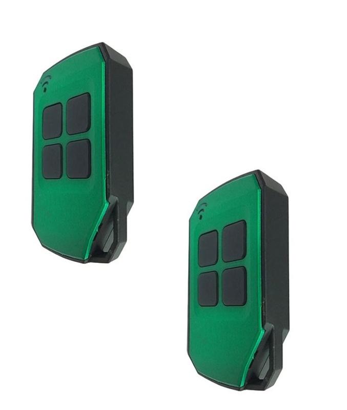 2 stuks Kijzer K 2129. copy-zender, waterdicht. Gemaakt van slagvast ABS kunststof. U dient wel nog 1 werkende zender van uw poort te hebben.
