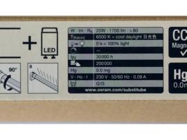 OSRAM LED Röhre 20W 120 Cm 6500K