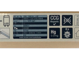 OSRAM LED Buis 13W 120Cm 4000K