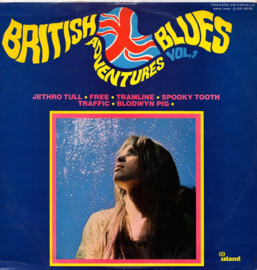 BRITISH BLUES ADVENTURES Vol. 1  Pink Island Eye Ball Jethro Tull among them
