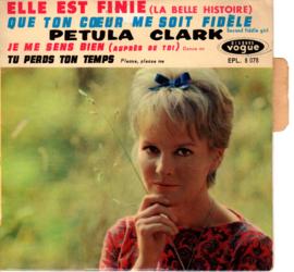 Petula Clark - Je Me Sens Bien  French ep