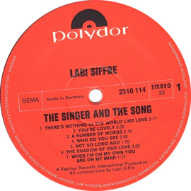 Labi Siffre - The Singer And The Song