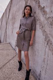 Dante 6, leather dress