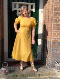 Compagnia italiana, gele jurk, midi lengte