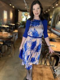 Rinascimento, bolero in kobaltblauw