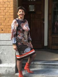 Ana Alcazar, jurkje met print