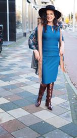 Diva Catwalk, petrolkleurige jurk