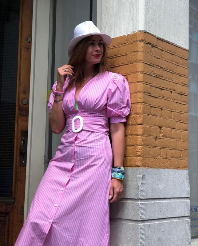 Compagnia Italiana, pink dress